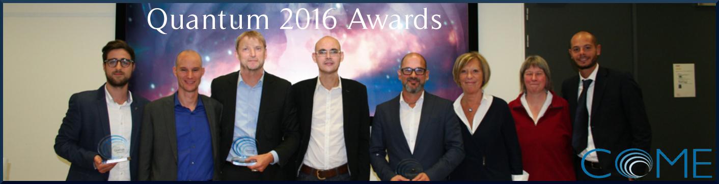 Quantum 2016 awards